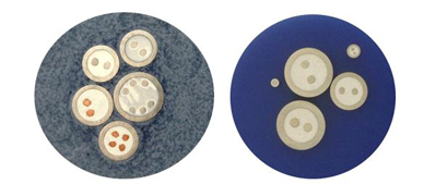 Microsectie van de mantelkabel