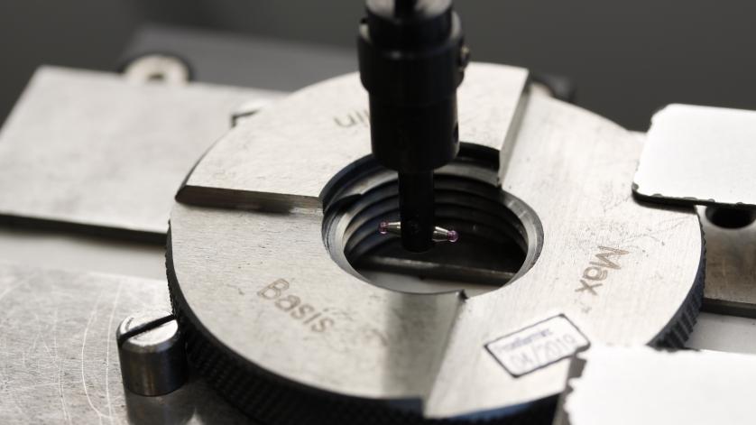 Kalibratie manometers met conische schroefdraadverbinding